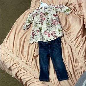 Gap Baby girls outfit
